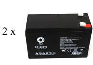 Compaq T700 battery set 14% more capacity 12 Volt, 7AH