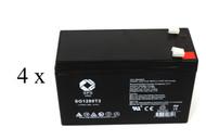 Minuteman 600SS UPS battery set set 14% more capacity
