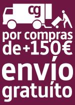 Gastos de envío gratuitos en pedidos de más de 150€