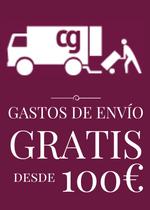 Gastos de envío gratuitos en pedidos de más de 100€