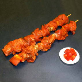 Brochetas de ternera