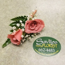 Edit a Product - Polished Peach Boutonniere (BOUT107-PPE)