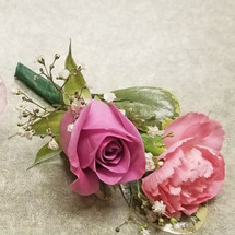 Pink Passion Boutonniere (BOUT110-PPA)