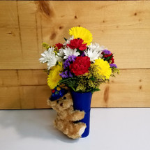 Big Hug Birthday (BHB) by Savilles Country Florist.  Birthday Flowers and Gifts delivered to Buffalo NY and the surrounding area including Orchard Park, West Seneca, Hamburg, and East Aurora