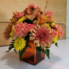 Thankful for You (SCF17F25)  Fall, Autumn, Thanksgiving Centerpieces and Flower arrangements from Savilles Country Florist with same day delivery to Buffalo, NY and the surrounding suburbs including Orchard Park, Hamburg, West Seneca, East Aurora, Blasdell
