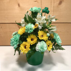 Pot Of Gold Bouquet  SCF18SP01 - Send Saint Patrick's Day Flowers - Same day delivery throughout Western New York