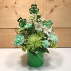 Your Lucky Day Bouquet  SCF18SP03 - Send Saint Patrick's Day Flowers- Same day delivery throughout Western New York