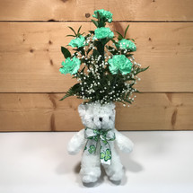 Kiss Me I'm Irish Bouquet  SCF18SP06 - Send Saint Patrick's Day Flowers & Plants - Same day delivery throughout Western New York