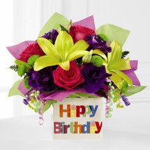 Happy Birthday Bouquet by Savilles Country Florist. Flower delivery to Orchard Park, Hamburg, West Seneca, East Aurora, Buffalo, NY and surrounding suburbs.