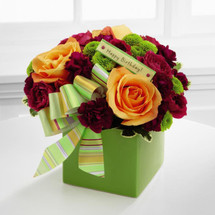 Birthday Bouquet by Savilles Country Florist. Flower delivery to Orchard Park, Hamburg, West Seneca, East Aurora, Buffalo, NY and surrounding suburbs.