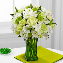 LimeLicious Bouquet by Savilles Country Florist. Flower delivery to Orchard Park, Hamburg, West Seneca, East Aurora, Buffalo, NY and surrounding suburbs.