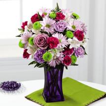 Purple Pop Bouquet (CDL)