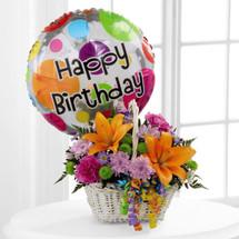 Happy Blooms Basket (D5-4894)