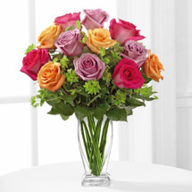 Pure Enchantment Rose Bouquet by Savilles Country Florist. Flower delivery to Orchard Park, Hamburg, West Seneca, East Aurora, Buffalo, NY and surrounding suburbs.
