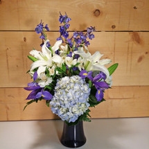 Beautiful in Blue Bouquet (SCF7025)