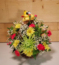 Spring Fling Flower Basket