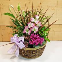 Lavender Country Garden Basket SCF9503