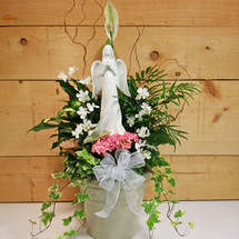 Garden of Divine Peace by Savilles Country Florist. Flower delivery to Orchard Park, Hamburg, West Seneca, East Aurora, Buffalo, NY and surrounding suburbs.