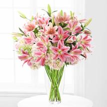 Luxury Lily & Hydrangea Bouquet (SCF5502)