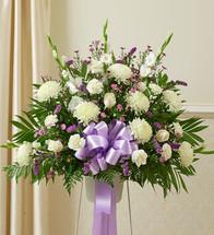 Small Heartfelt Sympathies Lavender Arrangement (91269)