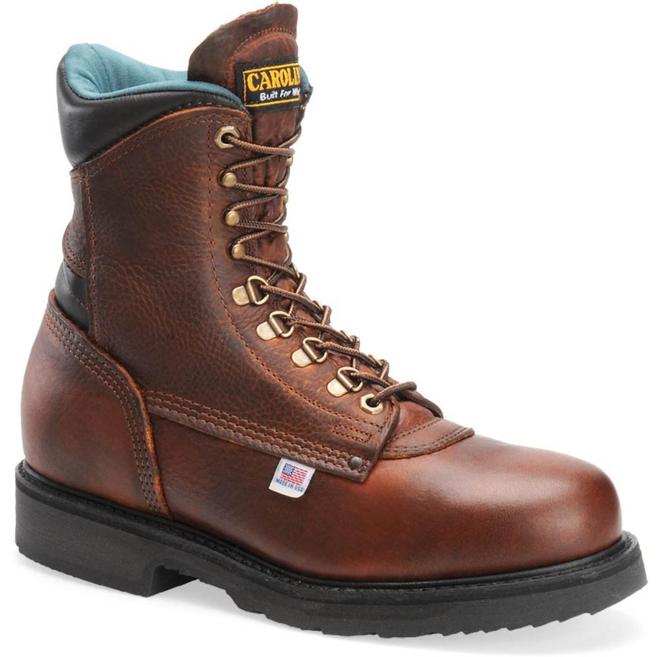 Carolina 1809 USA SARGE HI Steel Toe Non-Insulated Work Boots ...