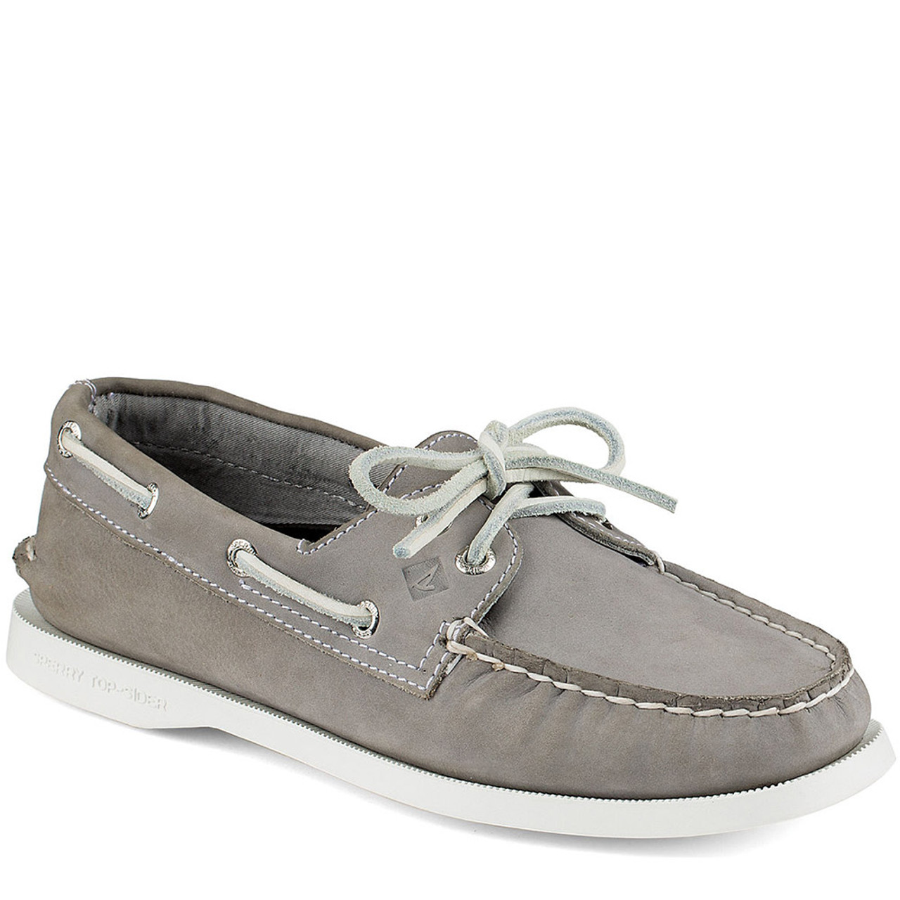 sperry sts94328 s a o grey 2 eye boat shoes family