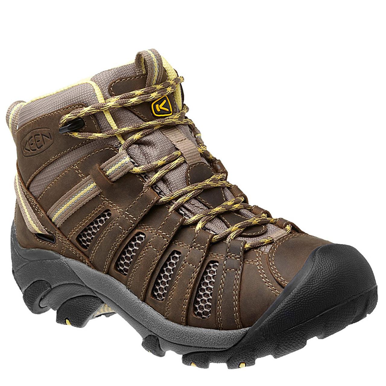 Original Keen Gypsum II Mid Womens Blue Waterproof Outdoors Walking Hiking Boots Shoes | EBay