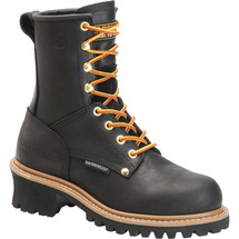 Carolina Women's CA1420 ELM Steel Toe Non-Insulated Black Logger Boots