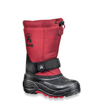 Kamik Rocket Kid's Snow Boots-Red