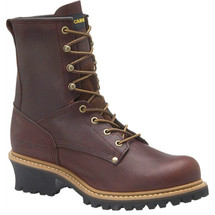 """Carolina 821 8"""" Soft Toe EH Rated Non-Insulated Logger Boots"""