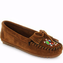 Minnetonka 403J  Me To We Moccasins Brown Suede