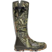 LaCrosse #376017 1000g Realtree Alphaburly Pro Side Zip Hunting Boots