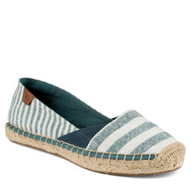 Sperry STS95650 Katama Cape Teal Striped Espadrille