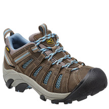 Keen Voyageur Women's Hiking Shoes Brindle Alaskan Blue