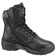 Magnum #5866 Stealth Force Composite Tactical Police Duty Boots Side Zipper WPI