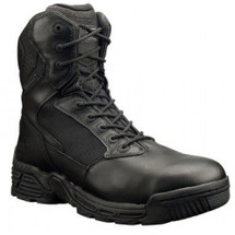 Magnum #5870 Stealth Force Soft Toe Tactical Police Duty Boots Side Zipper   WP