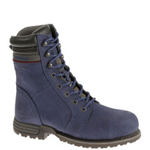 CAT Women's Purple Echo Waterproof Steel Toe Work Boots