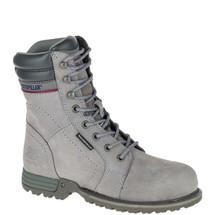 CAT P90565 Women's Grey Echo Waterproof Steel Toe Work Boots