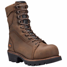 Timberland Pro 89656214 Rip Saw 9 Inch Composite Toe Logger Boot