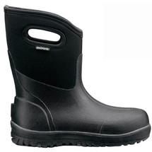 Bogs Men's Classic Black Ultra Mid Boots