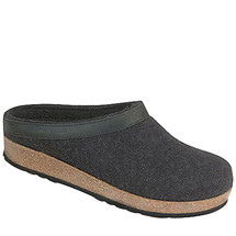 Haflinger Boiled Wool GZL44 Men's Clogs
