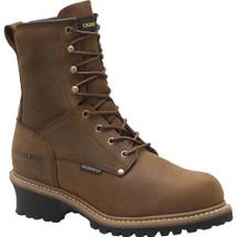 Carolina CA5821 Crazy Horse Steel Toe Insulated Logger Boots