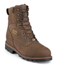 Chippewa 26330 USA Steel Toe Insulated Bay Apache Work Boots