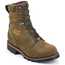 Chippewa 29416 USA Soft Toe Insulated Bay Apache Work Boots