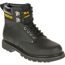 """Cat Boots P70043 2nd Shift 6"""" Black Work Boot"""