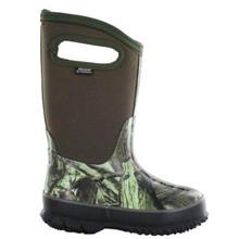 Bogs Kid's Classic High Handle Mossy Oak Camo Boot