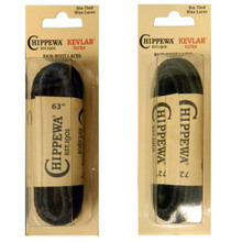 "Chippewa Kevlar Heavy Duty Black Boot Laces 63"" or 72"""
