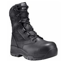 """Timberland Pro Valor 8"""" Tactical Police Duty Boots CT WP Side Zipper"""