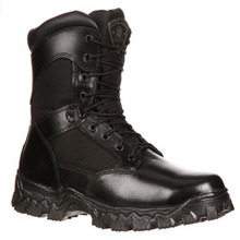Rocky #2173  Alpha Force Waterproof Soft Toe Police Duty Boots Zipper
