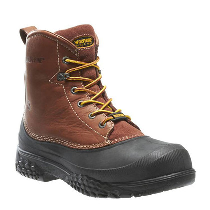 wolverine w05698 rival steel toe non insulated work boots